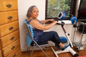 Resourceful Patient Goes After and Gets 5 Grants to Fund Her MOTOmed Movement Therapy Machine